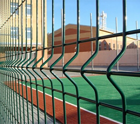 Chain-link fencing «Тоpaz»